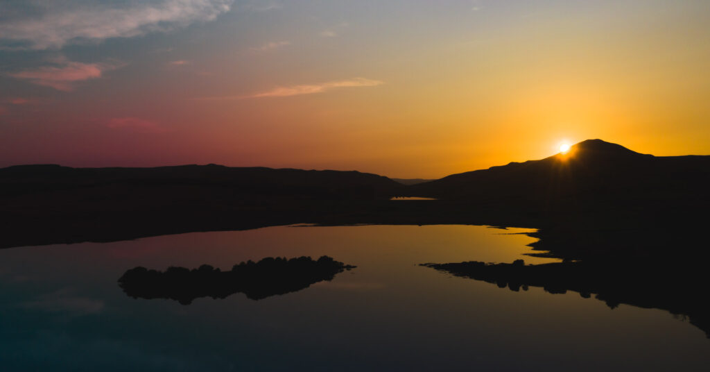 Ballo Reservoir, Lomond Hills, Fife