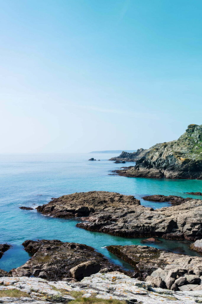 Cornwall doing a great impression of the Cote d'Azur during a blazing hot bank holiday Easter weekend.